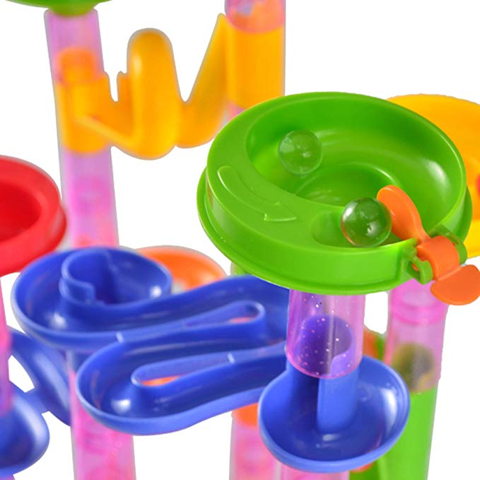 196 Pcs Marble Run Compact Set