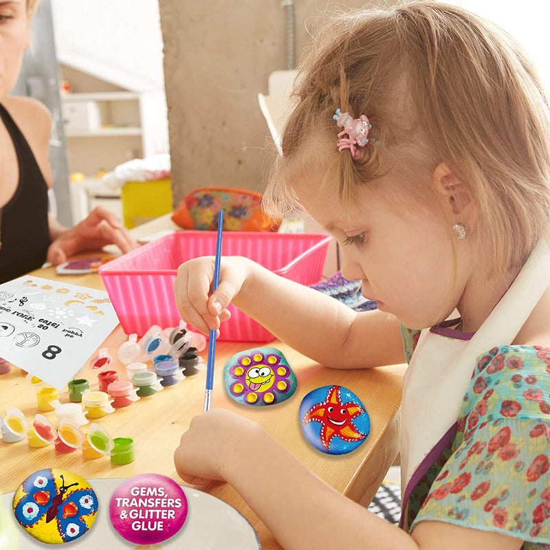 Klever Kits Rock Painting Set