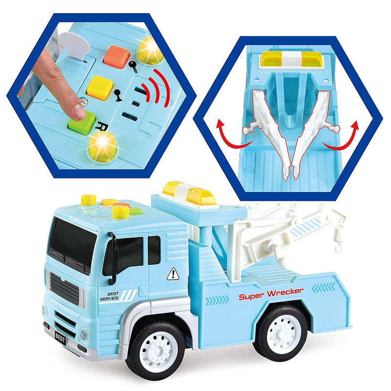 3-in-1 City Service Vehicle Car Truck Toy Set