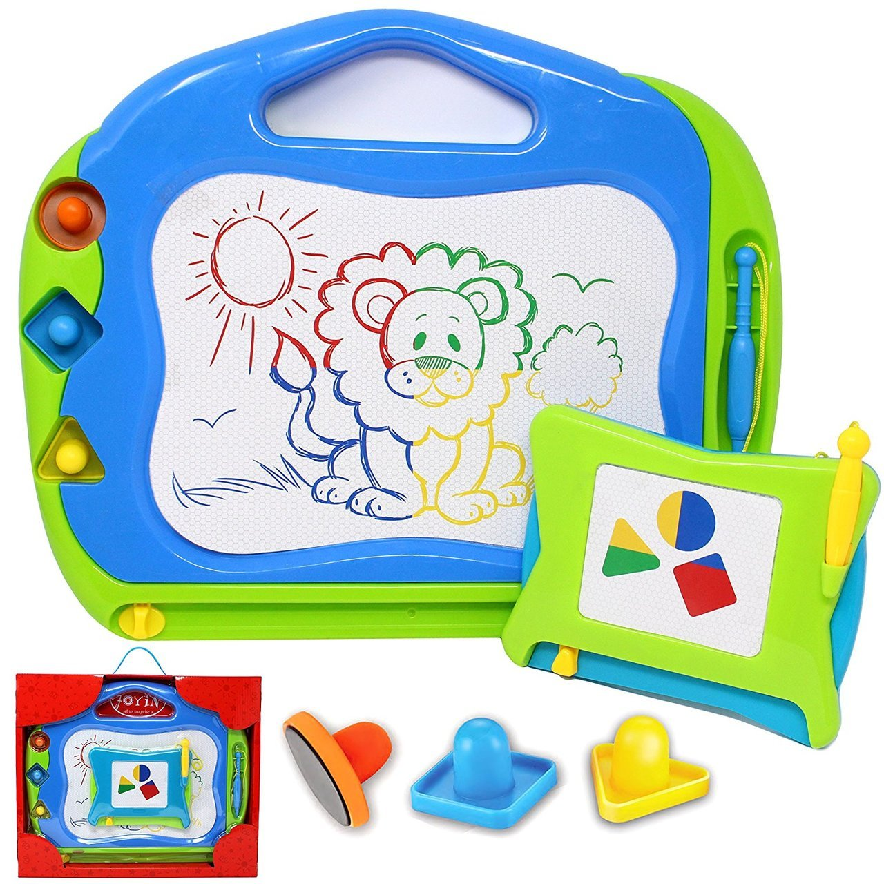 Magnetic Drawing Board Colorful Magna Doodle