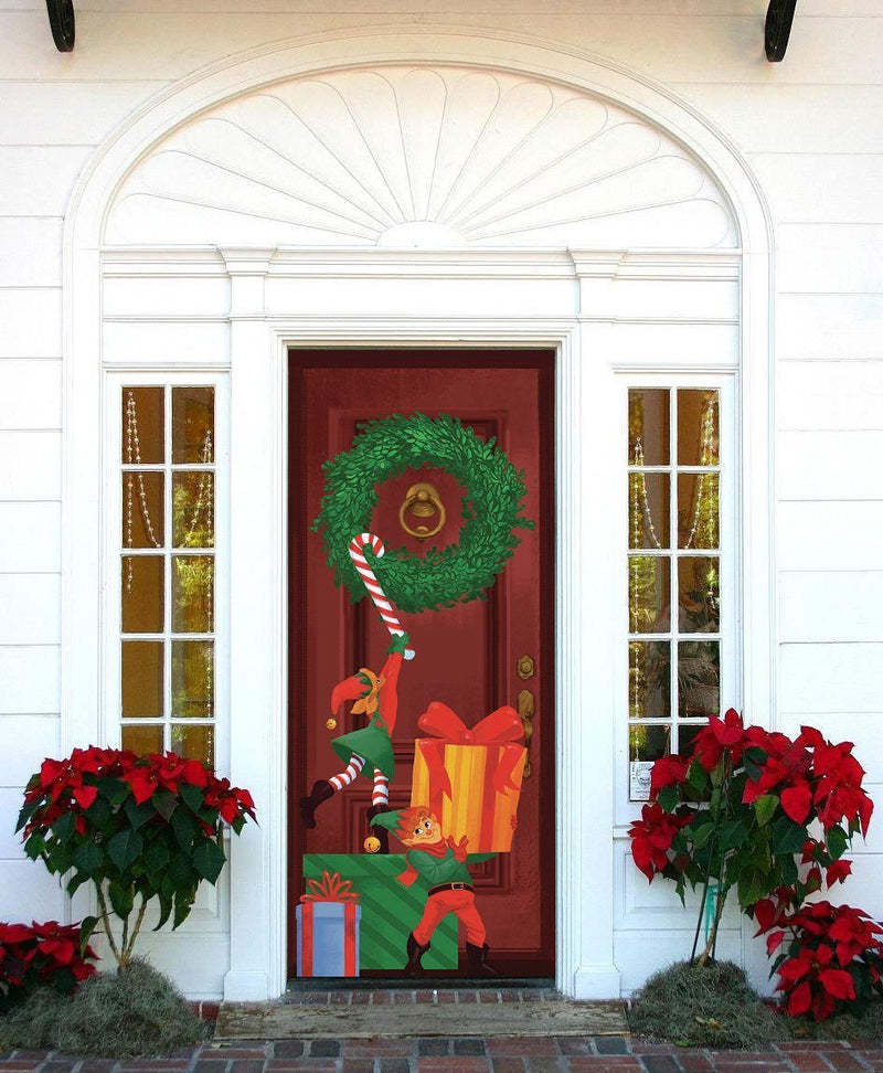 Special Delivery Elf Door Cover