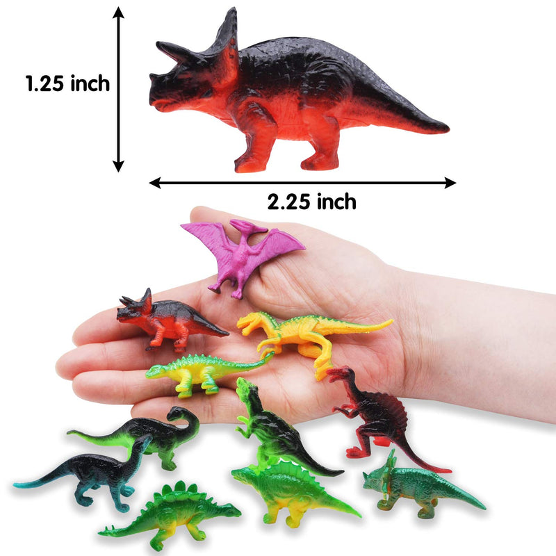 144 PCS MINI DINOSAUR TOY SET FIGURE