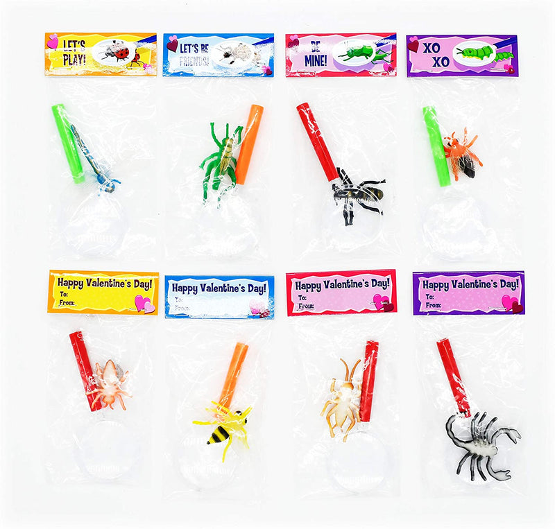 28 Sets Valentines Day Insect Sets for Kids
