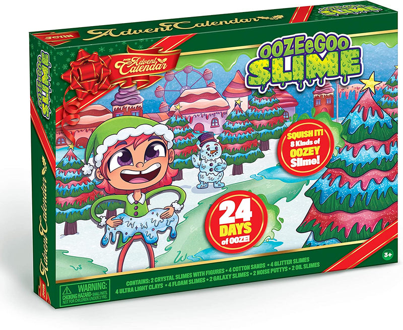 2020 Christmas Advent Calendar with 24 Slimes