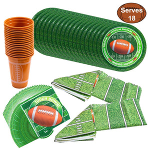 Football Themed Party Set