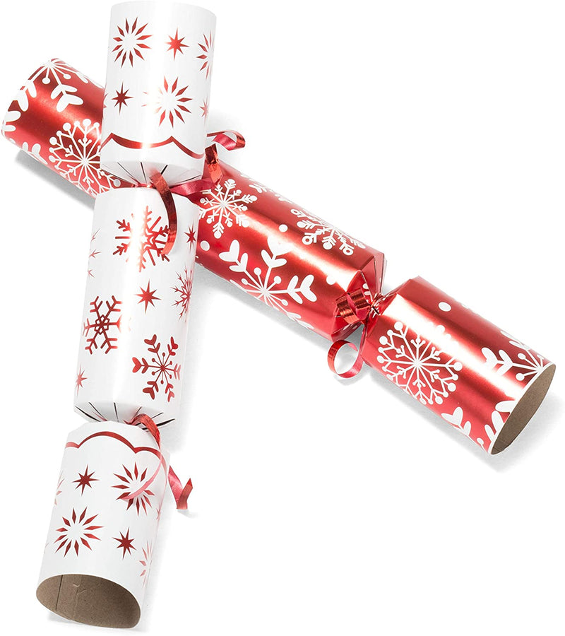 "10"" Christmas No Snap Party Favor (Red & White)"