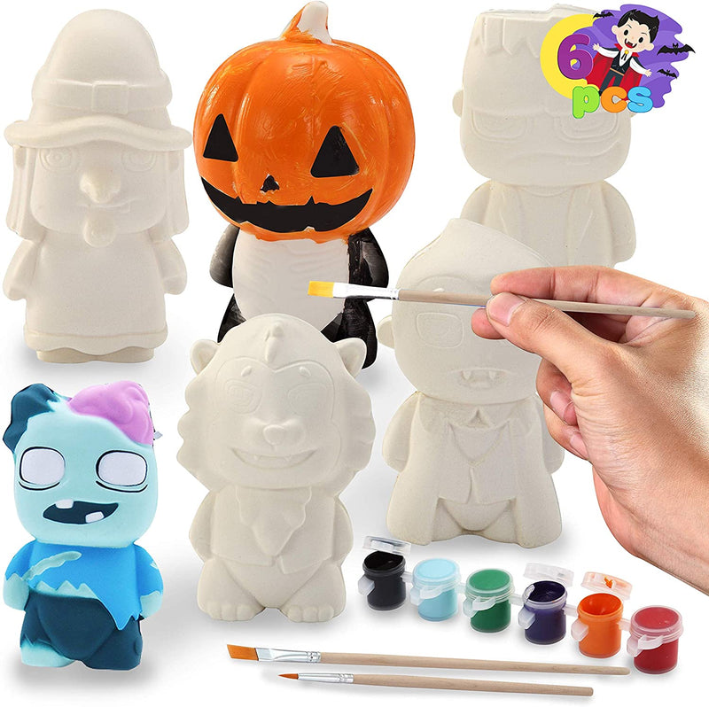 Halloween Squishy Coloring Craft Kit