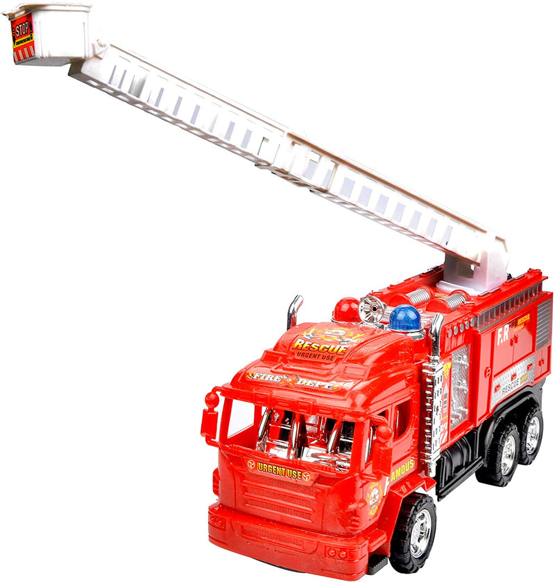 10'' FIRE ENGINE FIRE TRUCK WITH EXTENDING LADDER