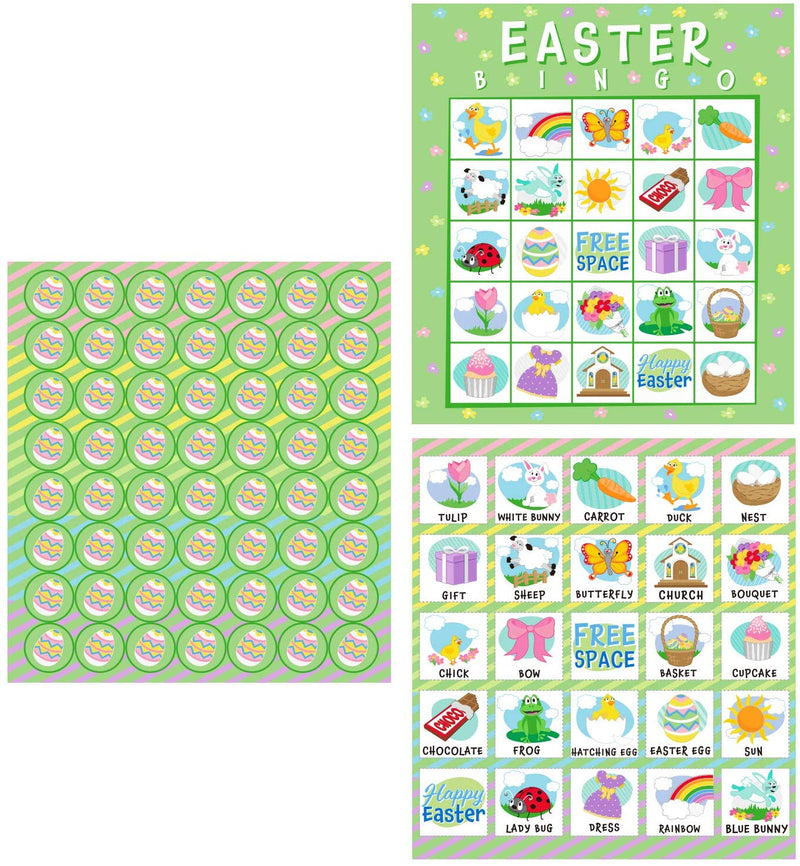 28 PLAYERS EASTER BINGO