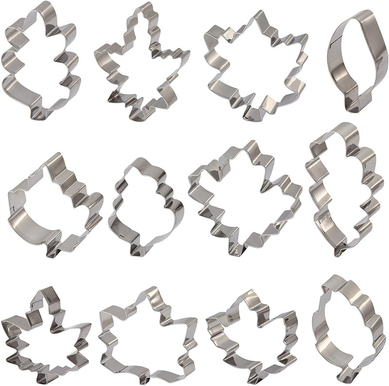 Thanksgiving Leaves Cookie Cutter Set