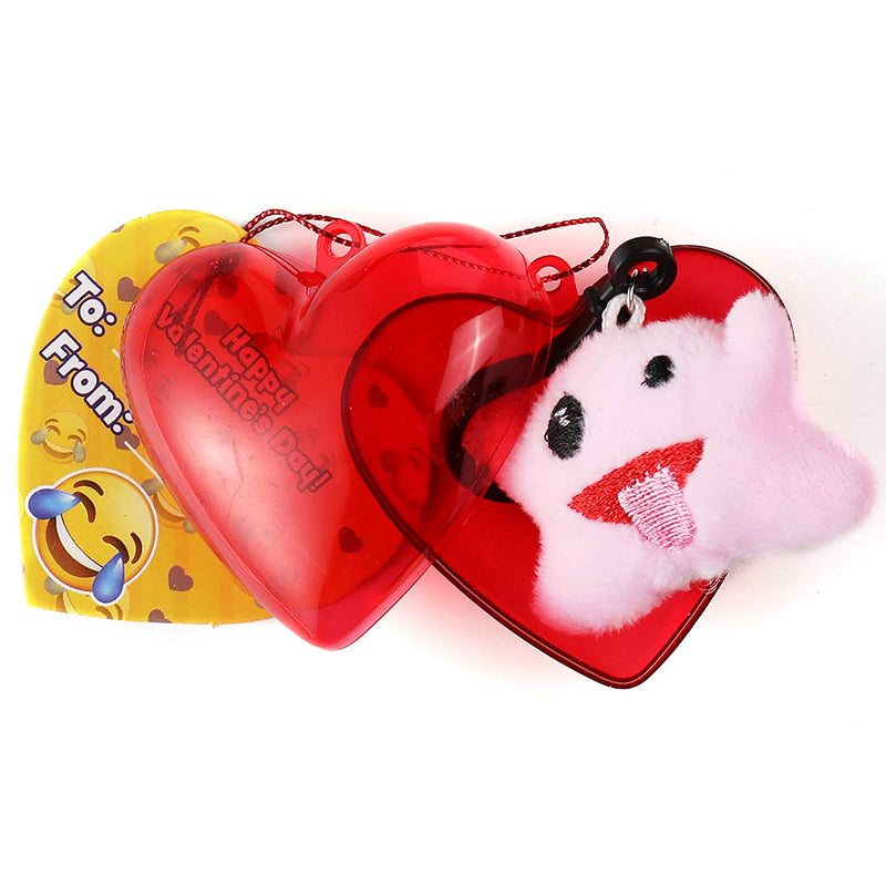 Valentines Emoji Party Favors Set