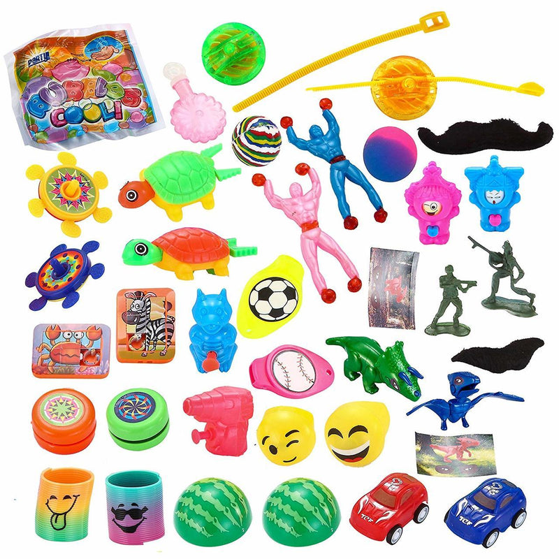 Surprise Toys Pre-Filled Easter Eggs, 36-Pack