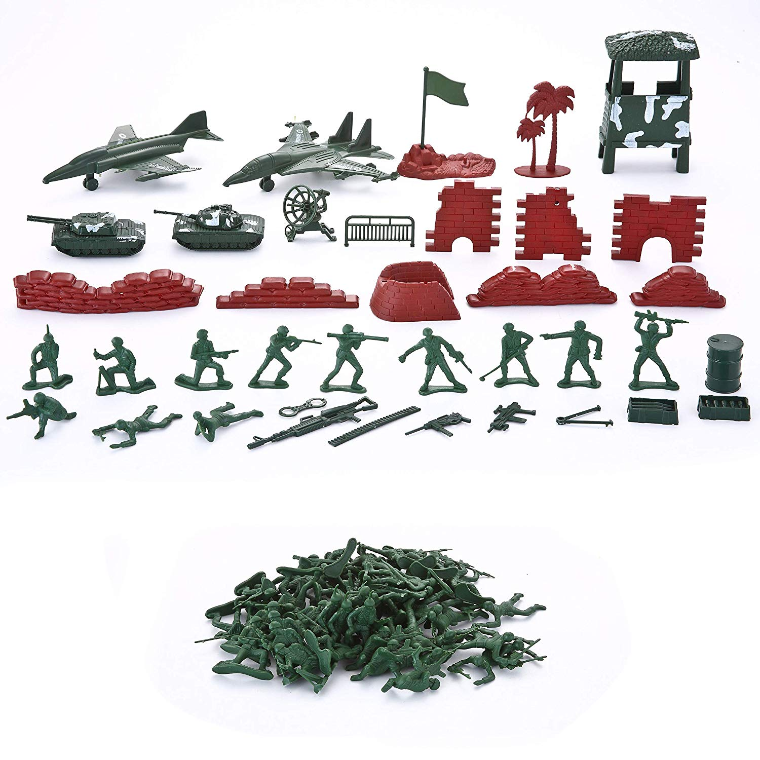 Military Soldier Playset