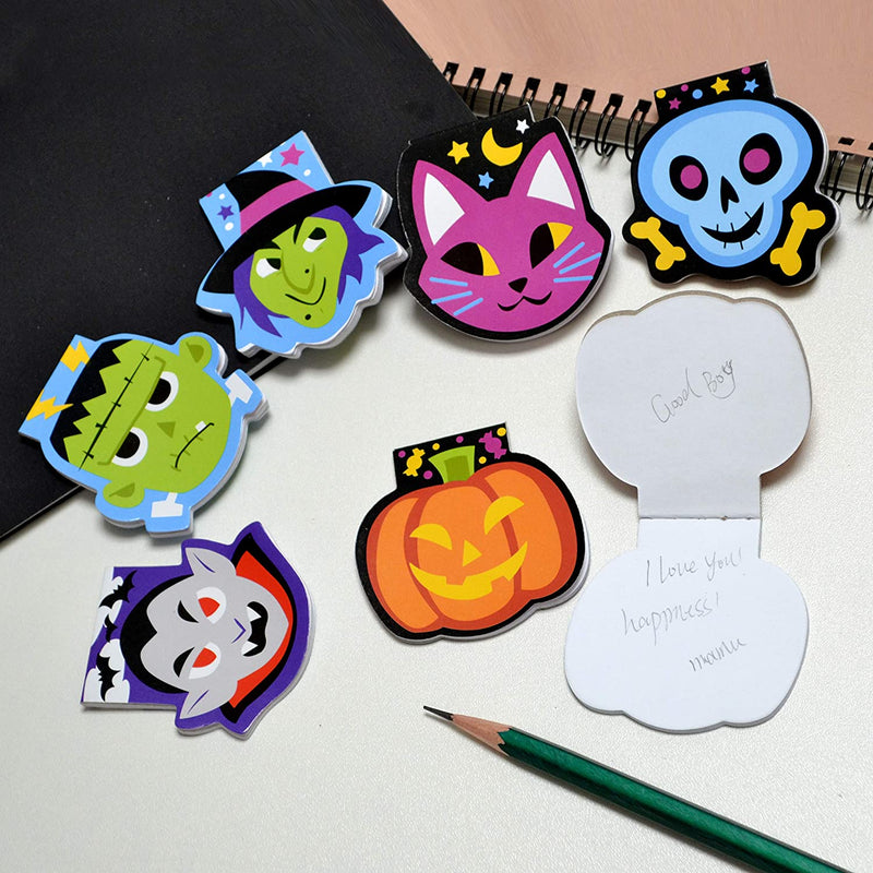 Halloween Spooky Characters Mini Notepad