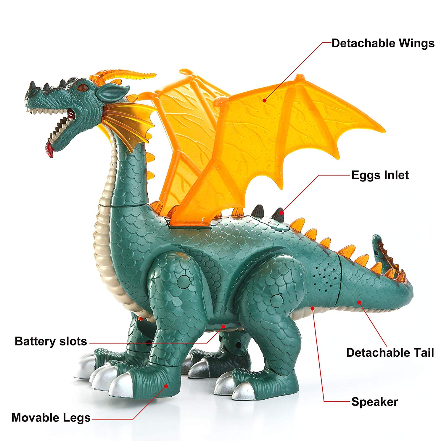 Electronic Dragon Dinosaur