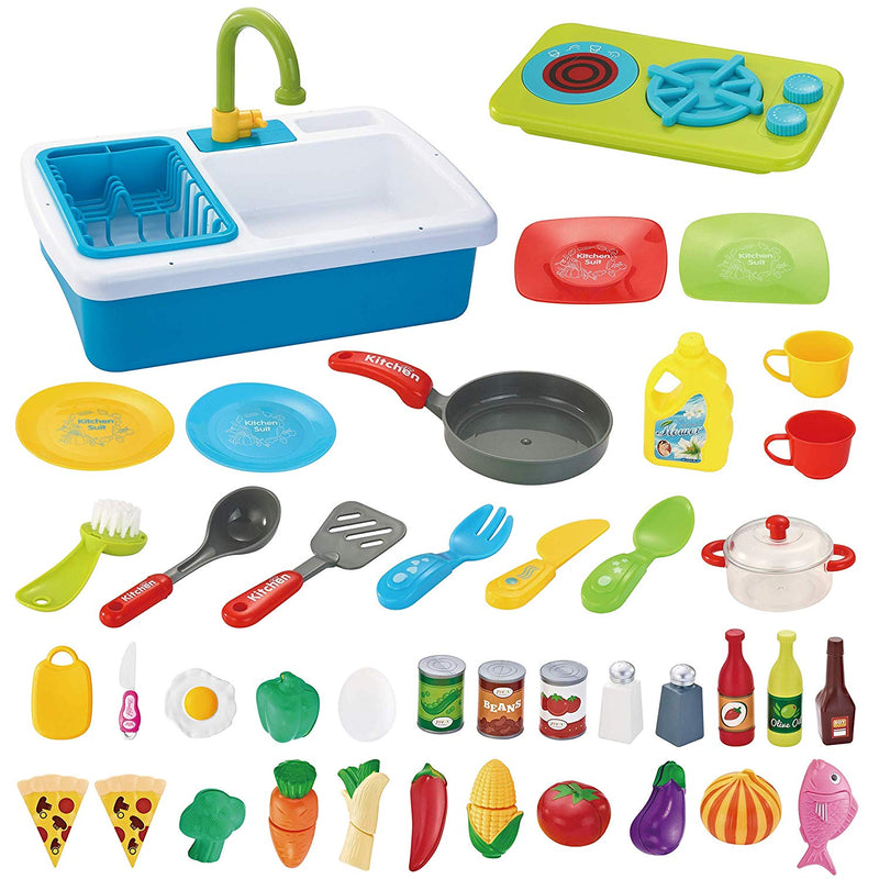 Washing Dishes Toy Sink Playset