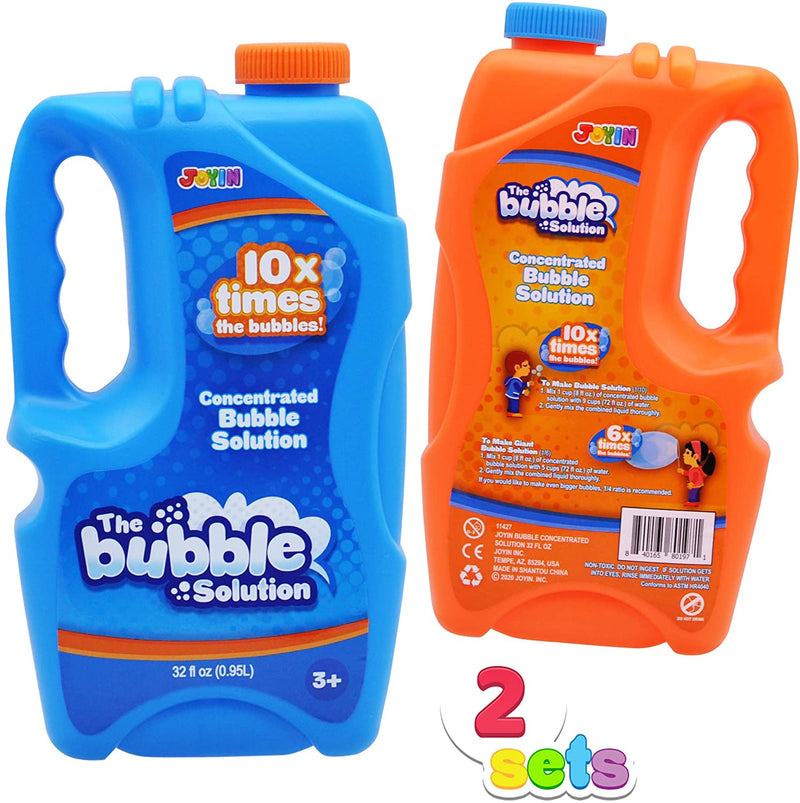 2 Large Bubble Concentrate Solution
