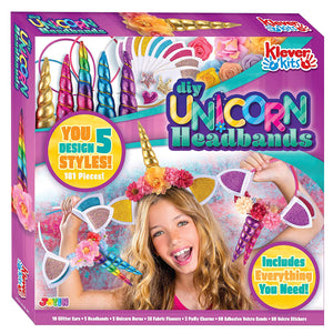 Klever Kits DIY Unicorn Headbands