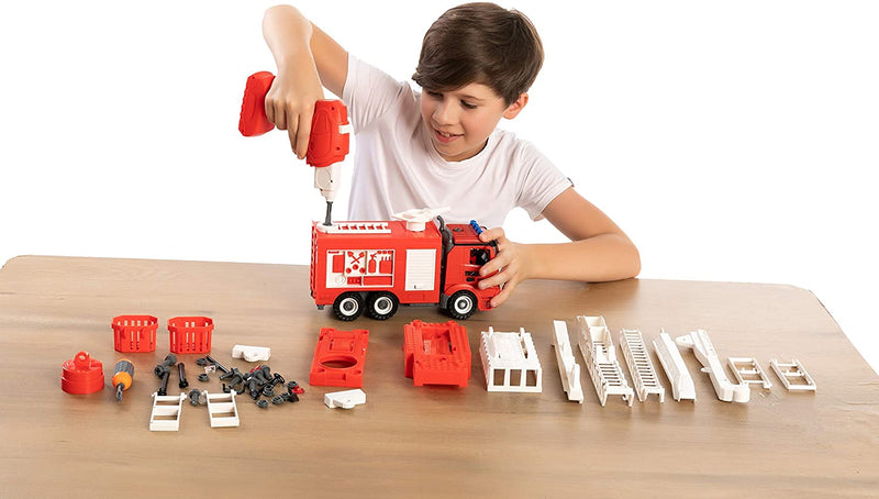 Fire Engine Remote Control 5 in 1 Take Apart Car Toys