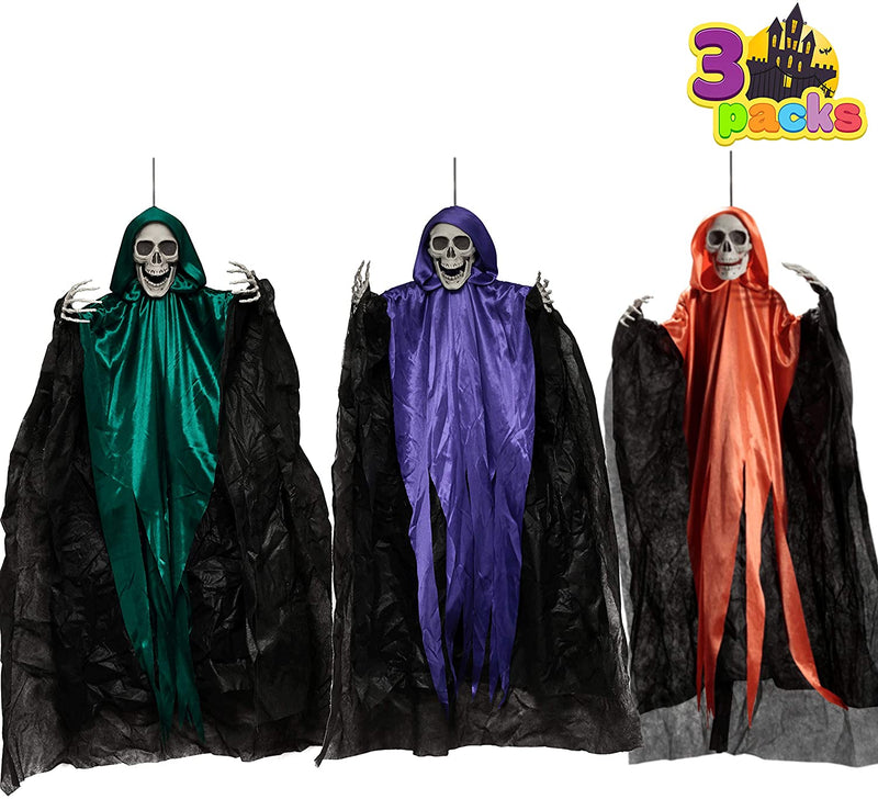 "36"" Hanging Grim Reapers, 3 Pack"