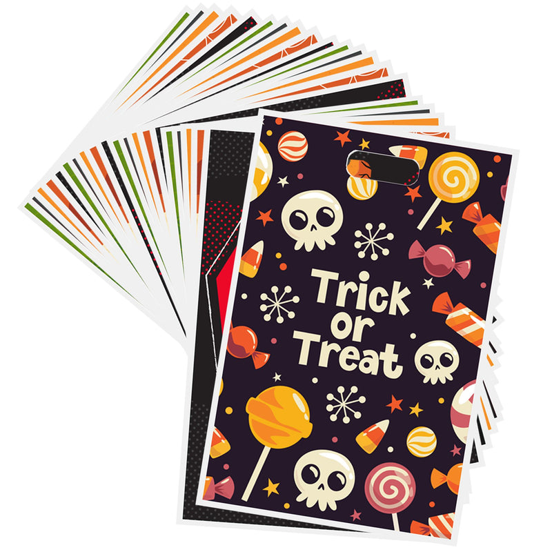 72 Halloween Goodie Bags for Trick-or-Treating
