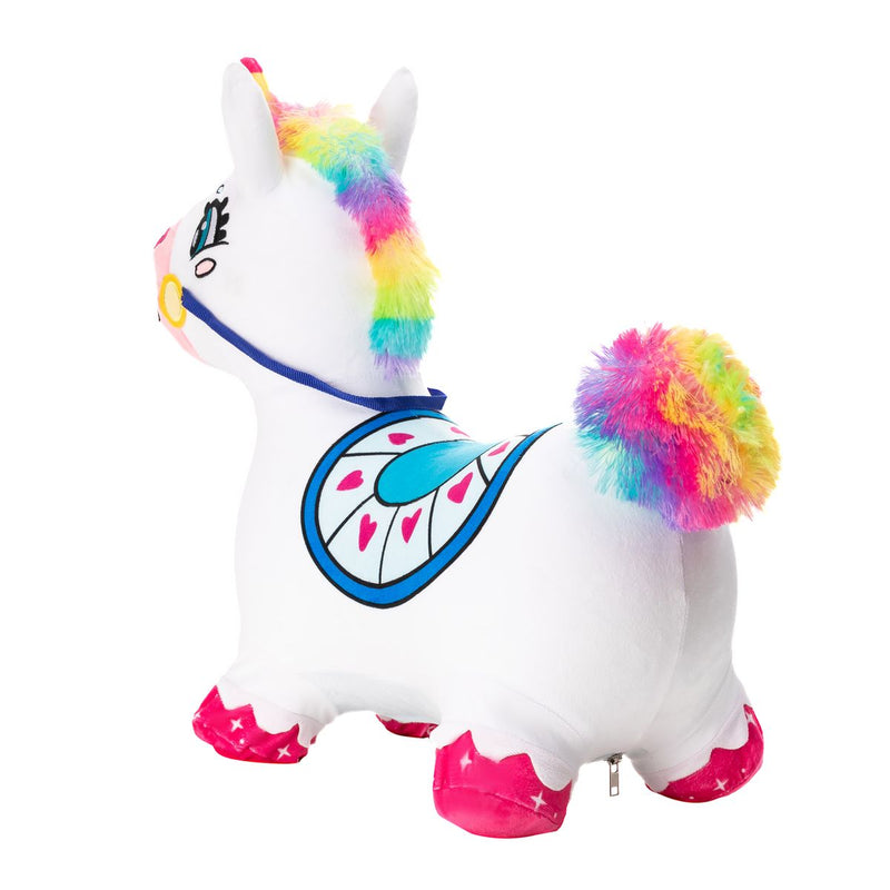 Unicorn Bouncy Horse Plush