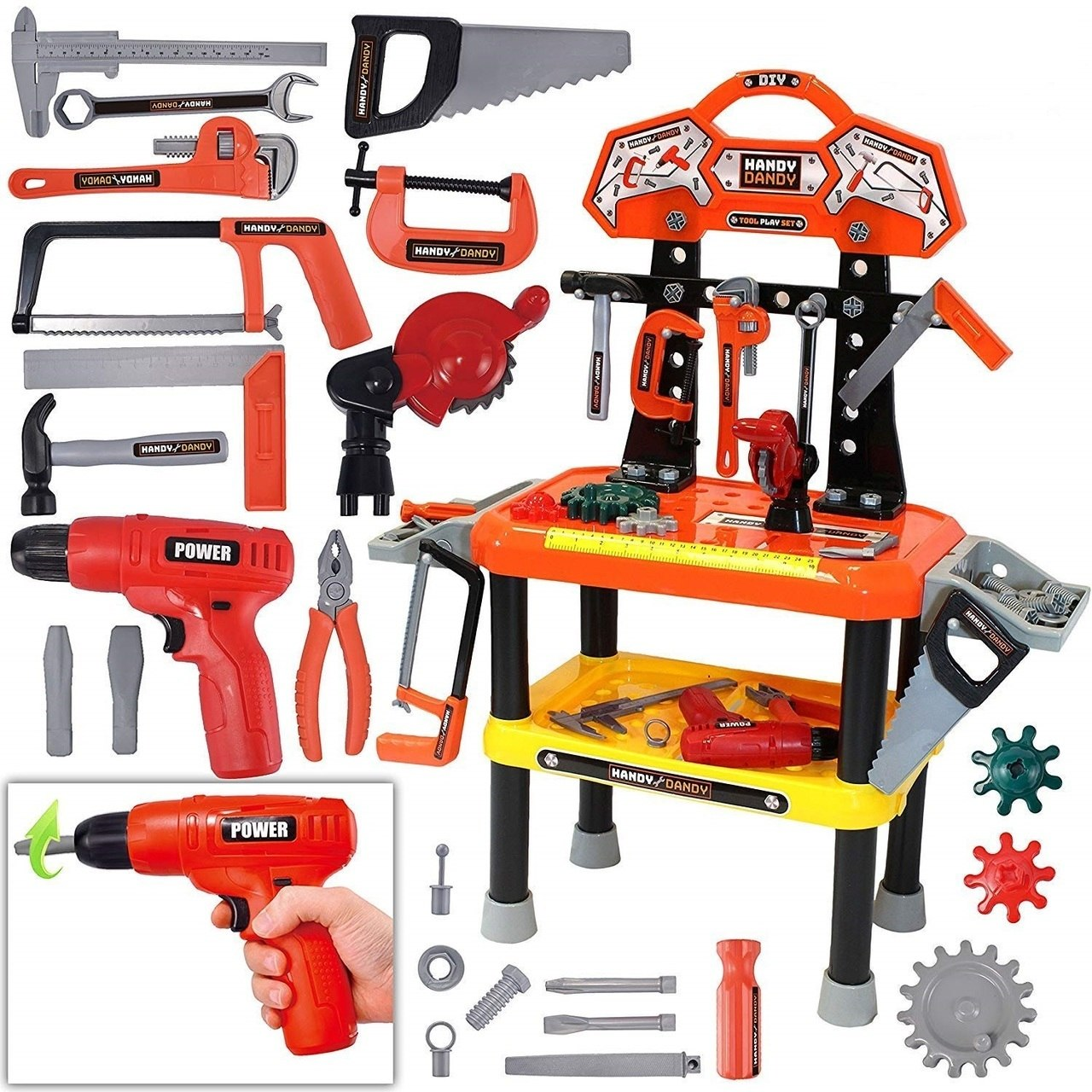 Workbench Tool Set 58-Piece Set