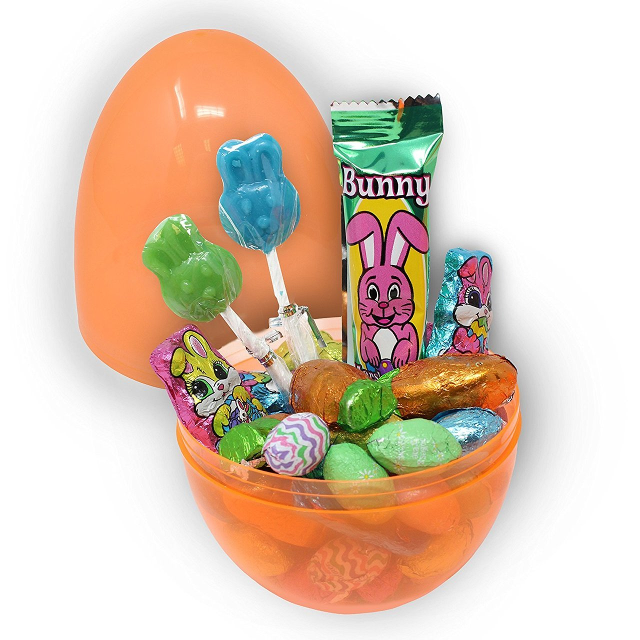Giant Easter Eggs, Transparent Colors, 12-Pack