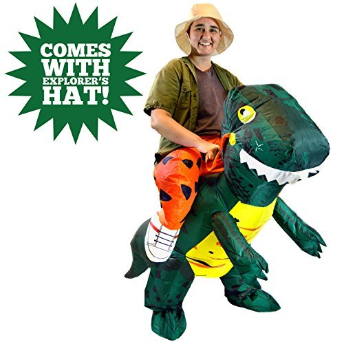 Ride-a-Dinosaur Inflatable Blow-Up Costume - Adult