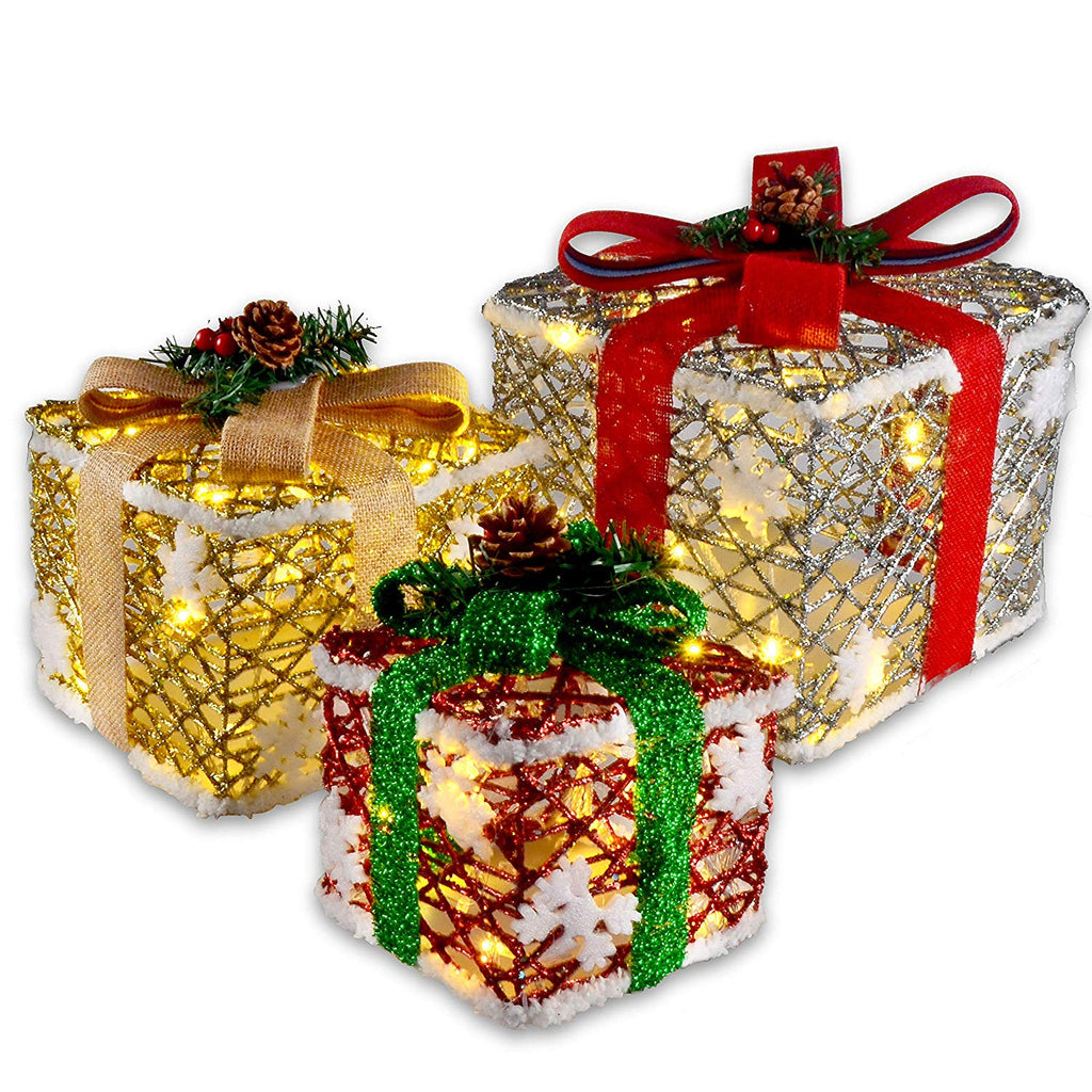 Deluxe Lighted Gift Boxes