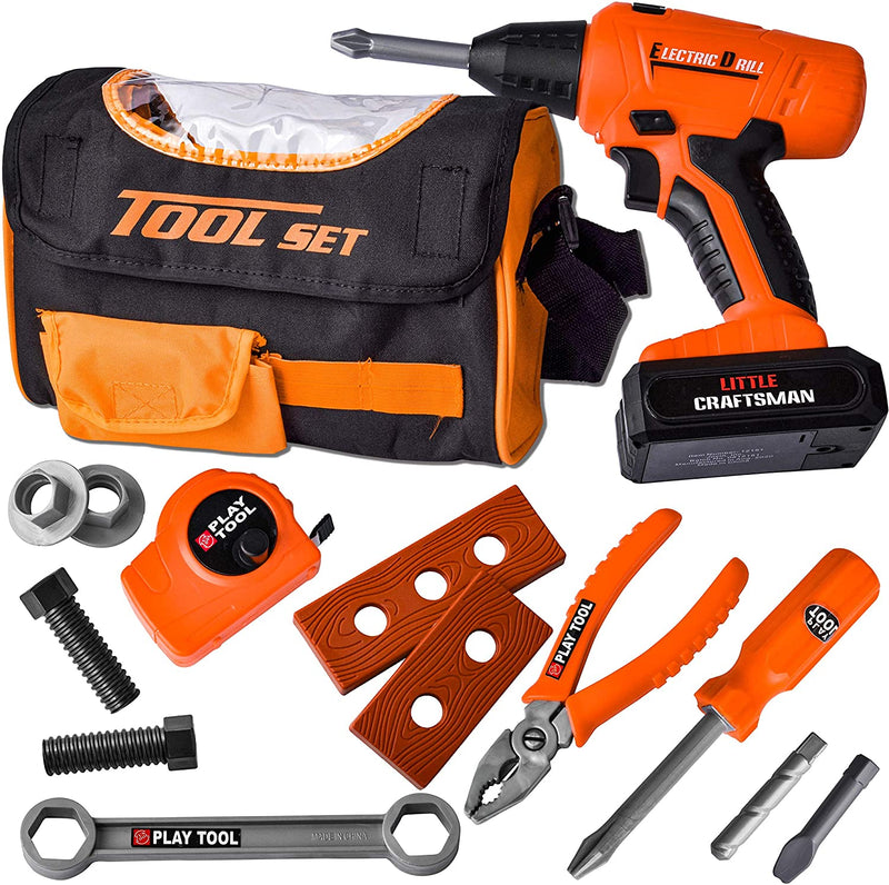 15 PC Sling Bag Construction Tool Set