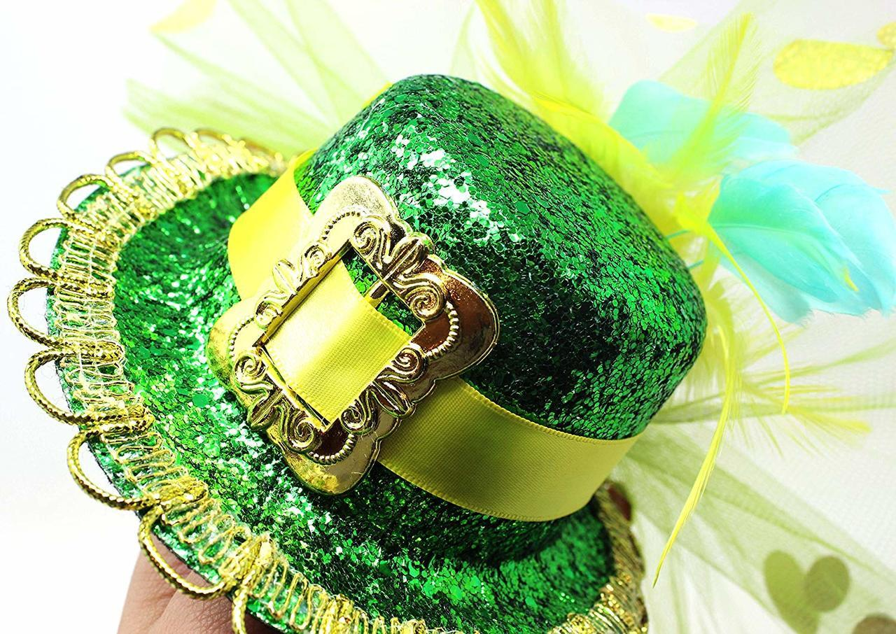 St. Patrick's Day Headband with Top Hat Saint Patrick's Accessories Party Favors Decorations