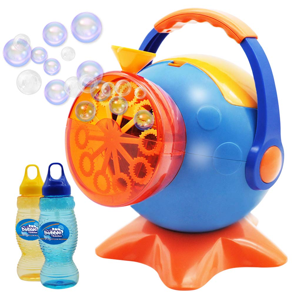 Bubble Machine with 2 Refills