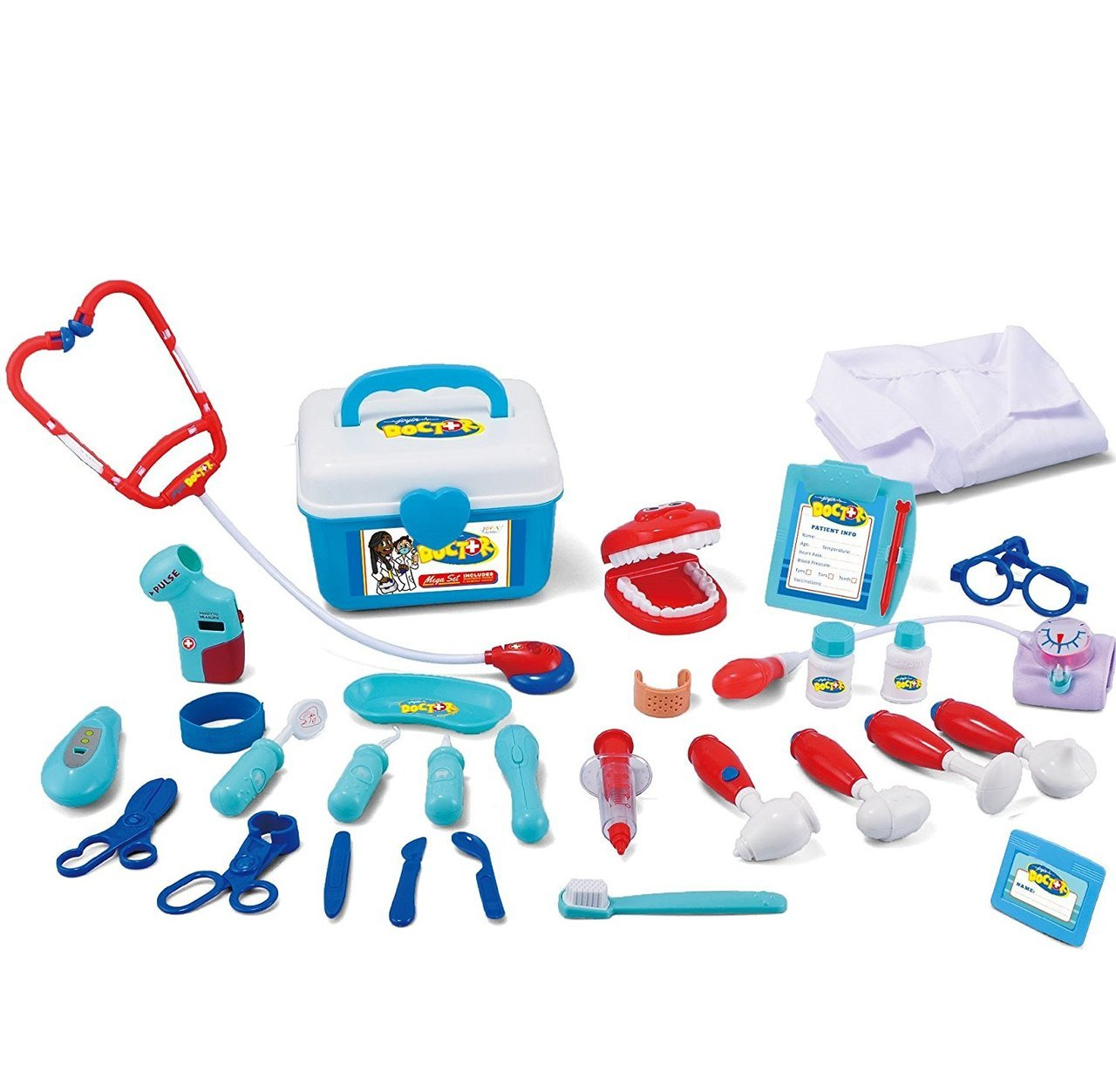Dentist Pretend-n-Play 31-Piece Medical Kit