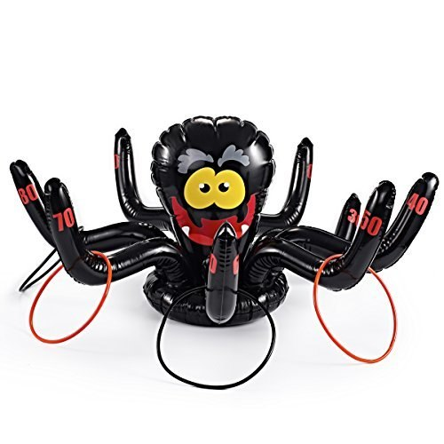 Silly Spider Ring Toss Game