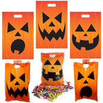 Halloween Jack O Lantern Trick Or Treat Bags, 72-Pack