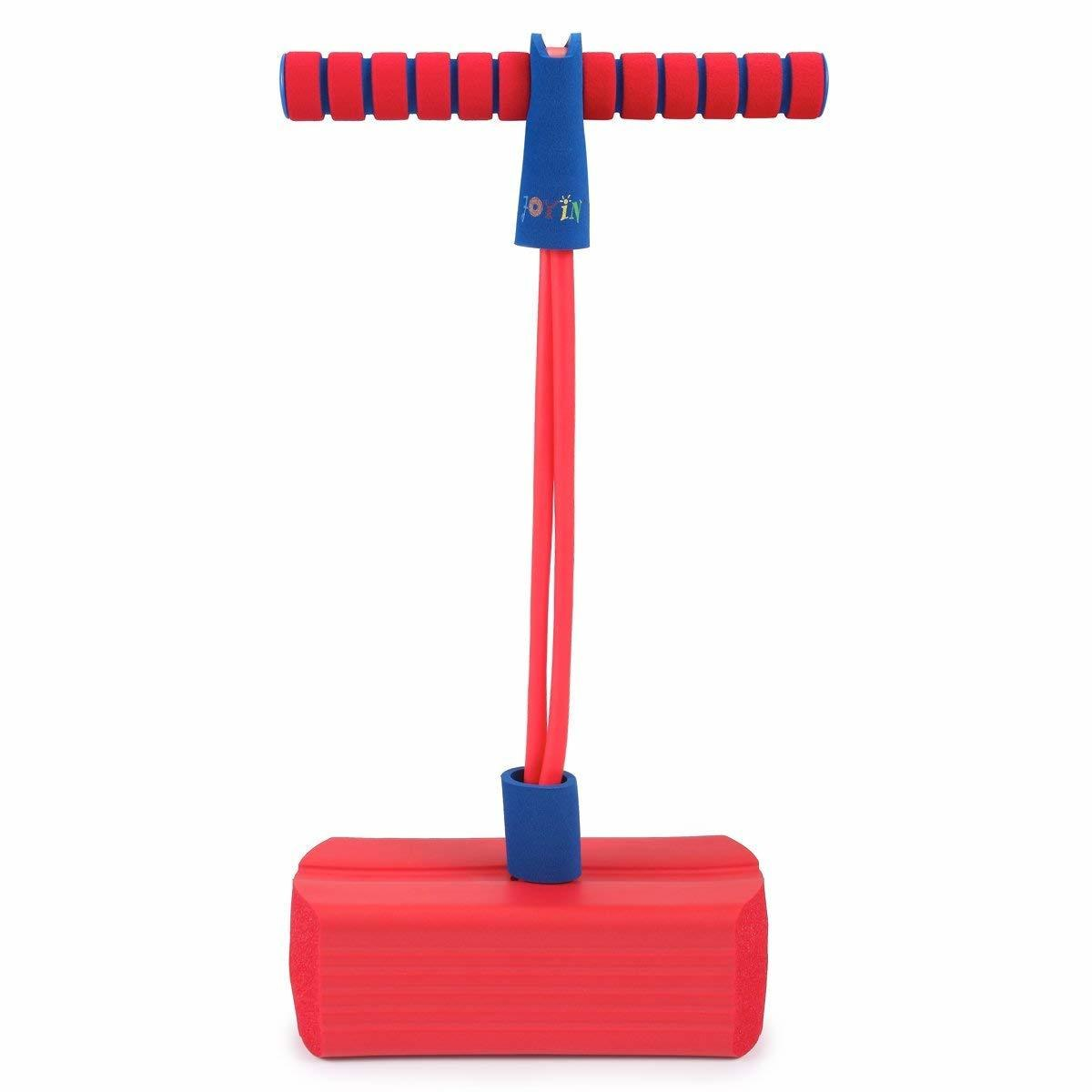 Foam Pogo Jumper Safe and Fun Play, 250-Pound Capacity (Red)