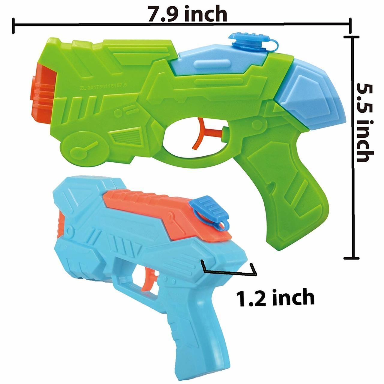 Water Pistols, 4-Pack