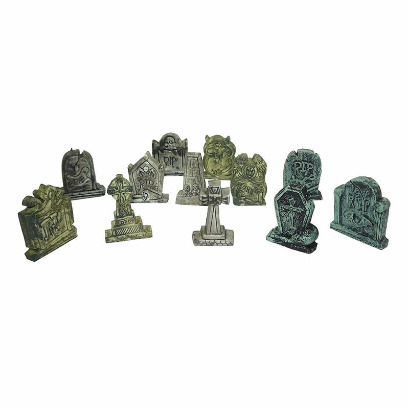 Miniature Tombstones 12-Piece Set