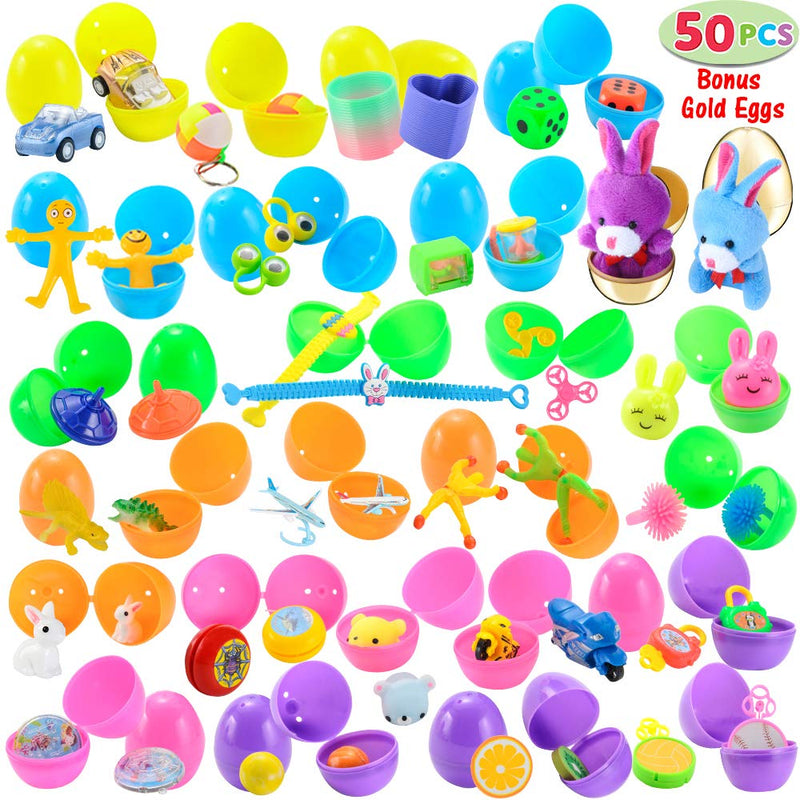 50 Toys Filled Easter Eggs