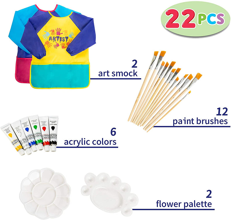 22-pcs Painting Supplies for Kids