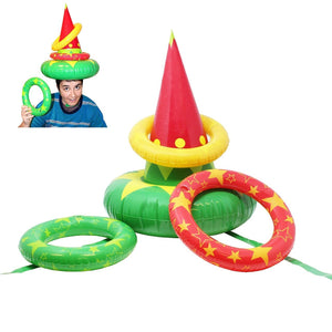 Elf Hat Ring Toss Game