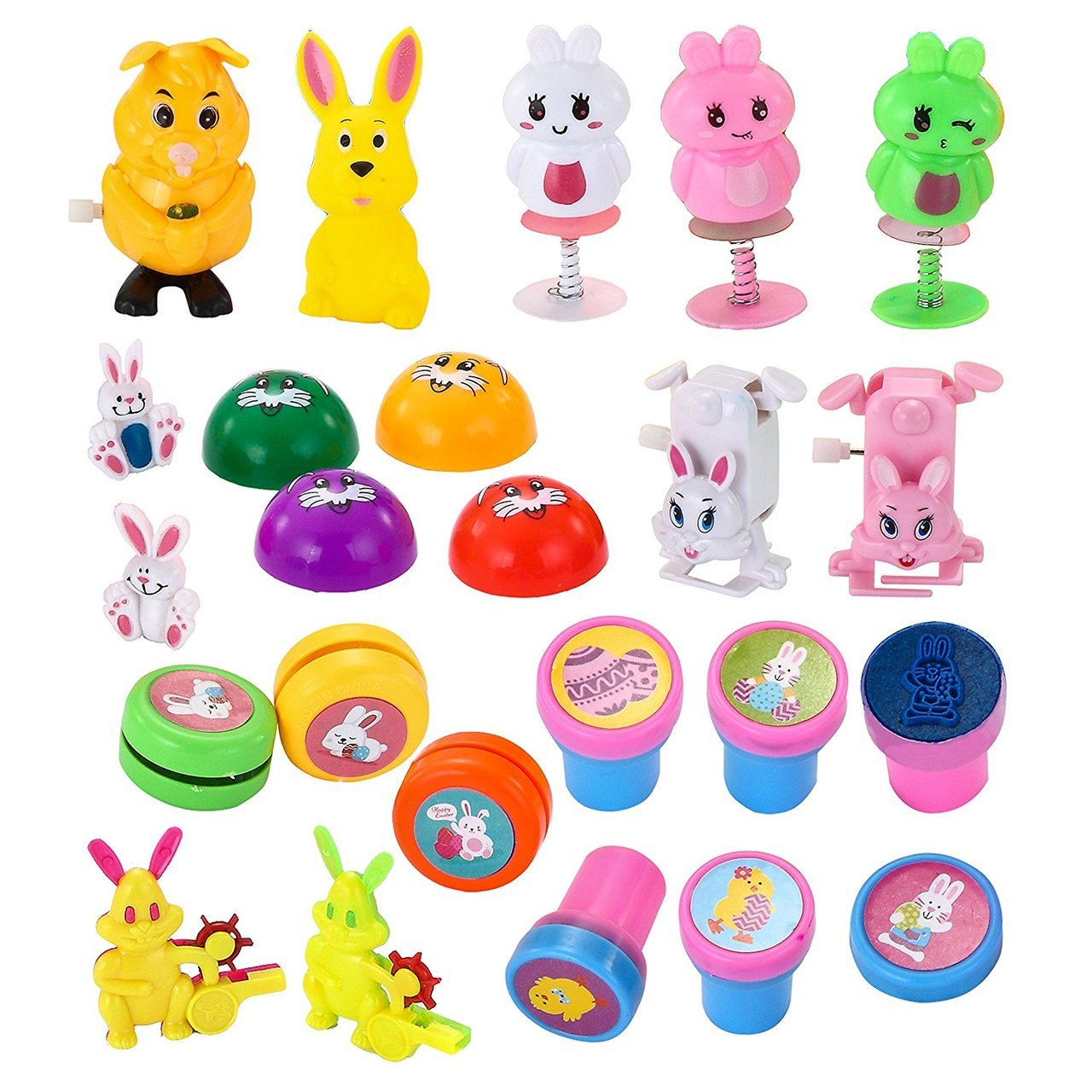 Easter Eggs Pre-Filled with Bunny Toys