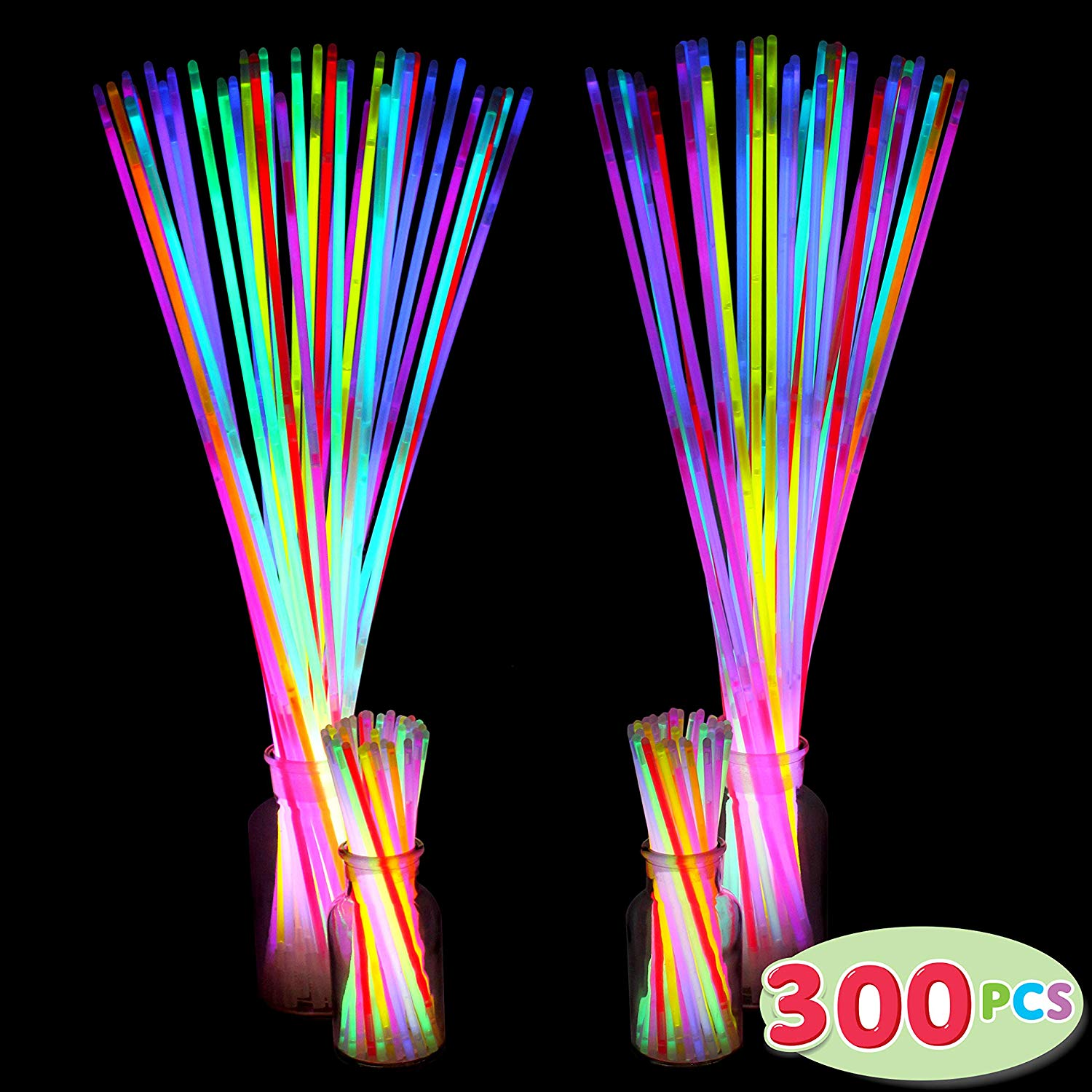 300 Pack Glow Sticks