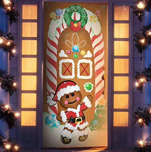 SWEET GINGERBREAD DOOR COVER