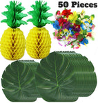 Luau Hawaiian Tropical Jungle Party Set