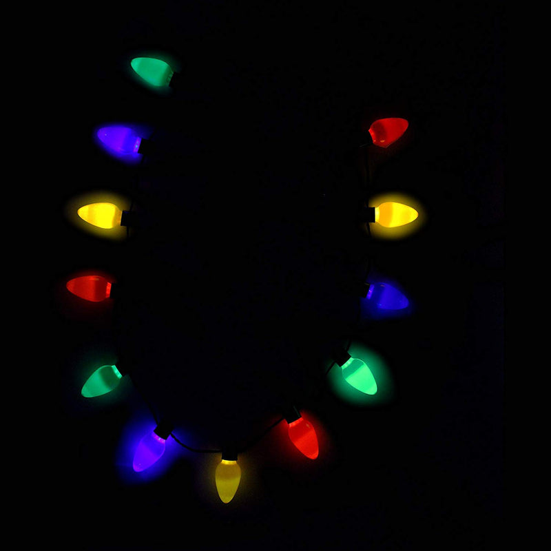 LIGHT-UP HEADBAND WITH LED BULB NECKLACE