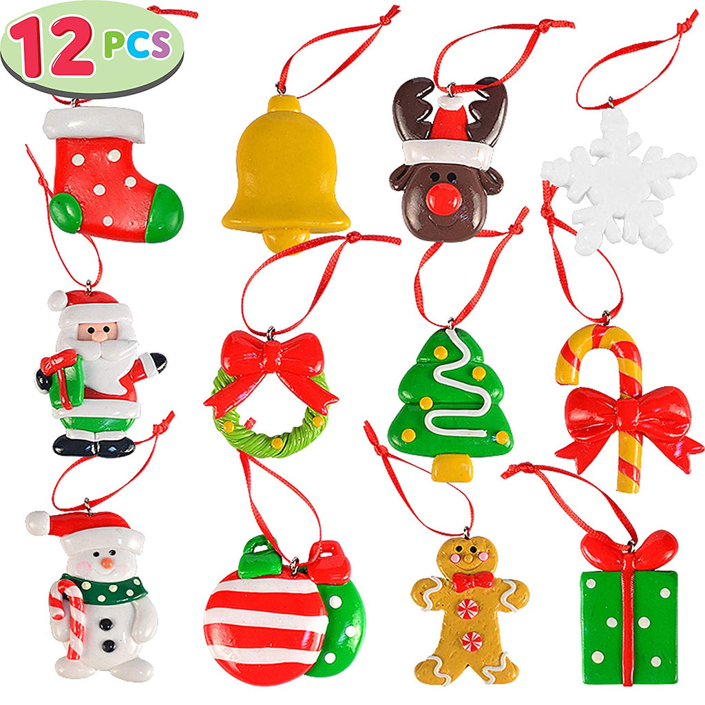 Handmade Christmas Mini Ornaments Set of 12