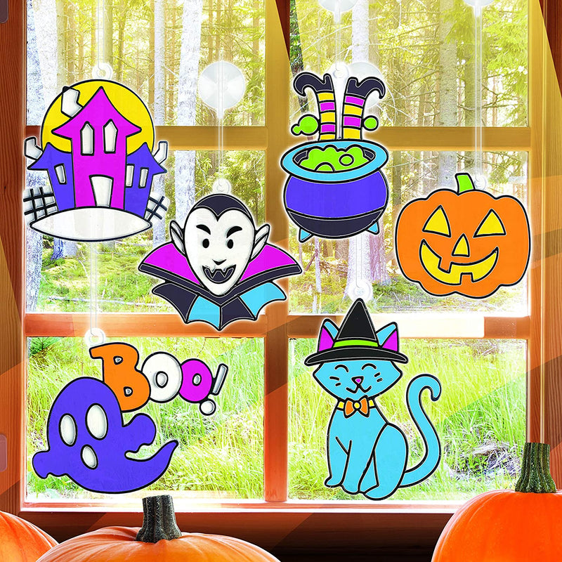 Halloween Window Craft
