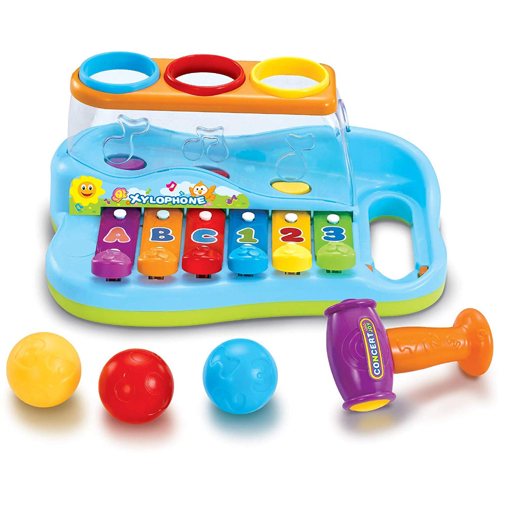 Baby Pound & Tap Bench Xylophone Musical Toy